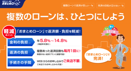 東京スター銀行LPキャプチャー