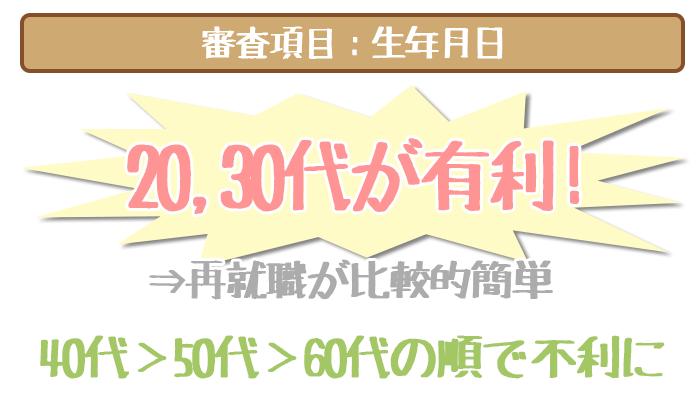 三井住友銀行カードローンの審査項目、生年月日