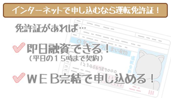 静岡銀行カードローンのネット申し込みに必須な運転免許証