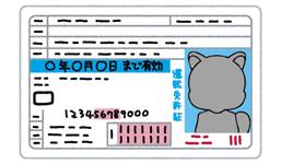 カードローン運転免許証
