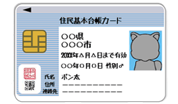 住民基本台帳カード住基カード