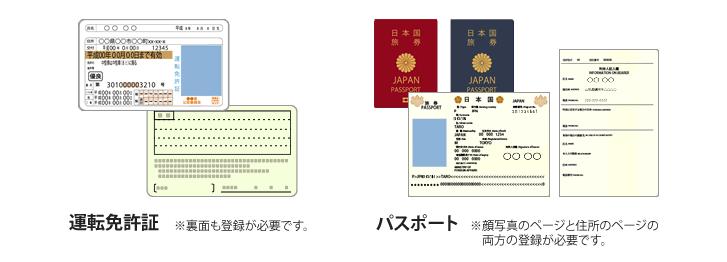 荘内銀行カードローンWebで使える本人確認書類