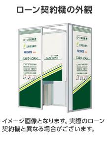 三井住友銀行カードローンのローン契約機