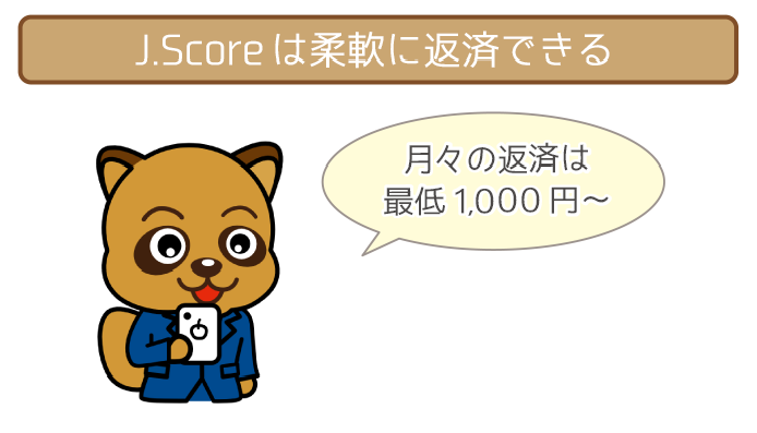 J.score(ジェイスコア)の返済を全まとめ!返済額から返済方法までまるわかり!