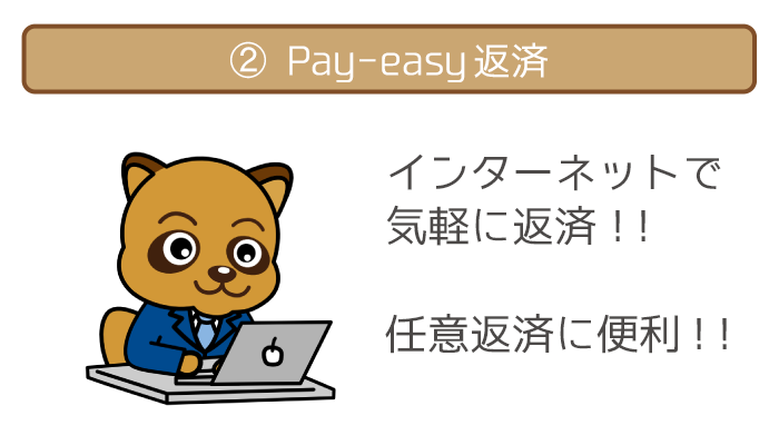Pay-easy(ペイジー)返済