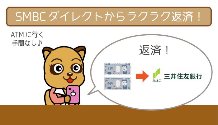 三井住友銀行カードローンの返済を全まとめ。返済しやすさは業界トップクラス!