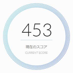 50歳・多重借り入れしている人のAIスコア診断の結果:453点