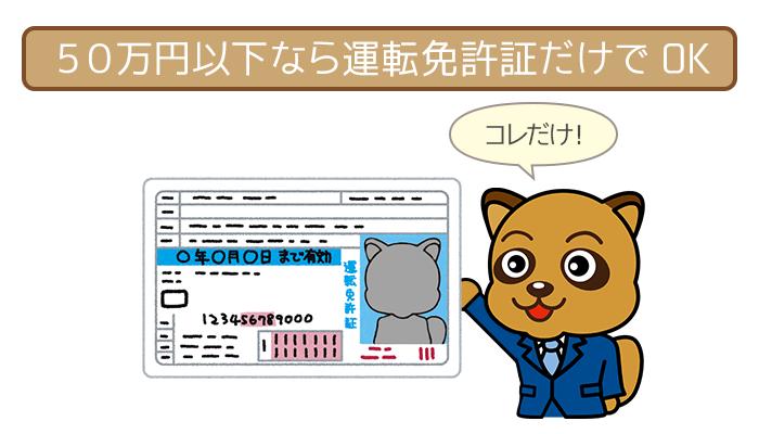 アイフルの必要書類まとめ!50万円以下なら用意するのは本人確認書類1枚だけ!