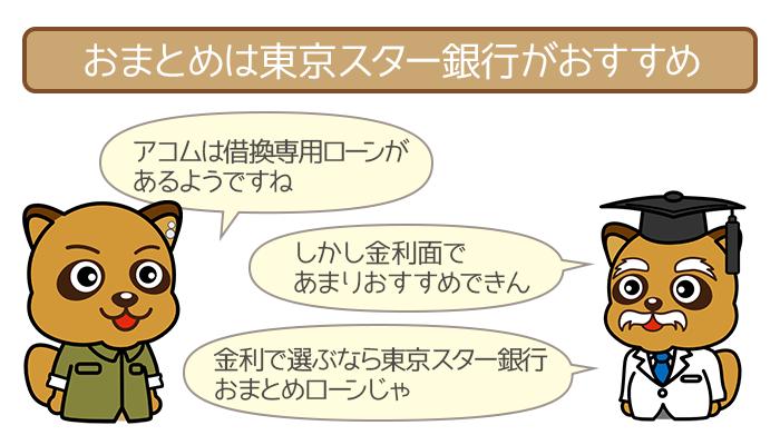 おまとめなら東京スター銀行おまとめローンへGO