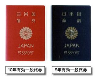 パスポートの見本