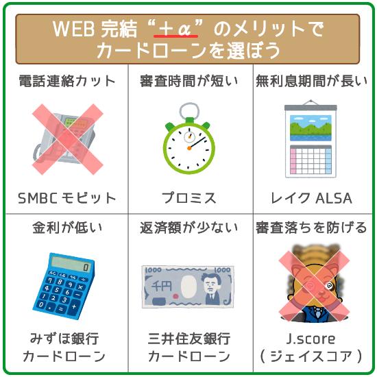 WEB完結は当たり前!+αのメリットで業者を選ぼう!